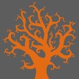 Desenho do vetor da árvore Foto de Stock Royalty Free