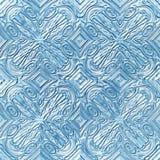Desenho gelado do inverno Imagem de Stock Royalty Free