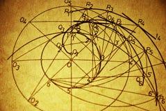 Desenho geométrico fotografia de stock royalty free