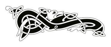 Desenho nacional celta Foto de Stock