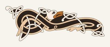 Desenho nacional celta Imagem de Stock