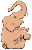 Desenho simples do vetor - elefante Imagens de Stock Royalty Free