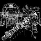 Desenho técnico Imagens de Stock Royalty Free