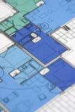 Desenho técnico Imagem de Stock