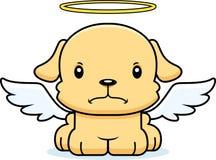 Desenhos animados Angel Puppy irritado Imagem de Stock Royalty Free