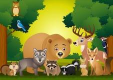 Desenhos animados animais Fotografia de Stock