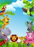 Desenhos animados animais Imagem de Stock Royalty Free