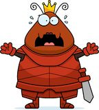 Desenhos animados assustado Ant Queen Armor ilustração do vetor