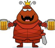 Desenhos animados bêbados Ant Queen Armor ilustração royalty free