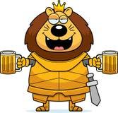 Desenhos animados bêbados Lion King Armor ilustração royalty free