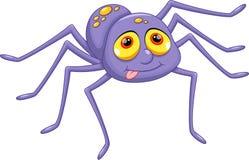 Desenhos animados bonitos da aranha ilustração stock