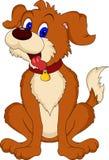 Desenhos animados bonitos do cão Fotos de Stock Royalty Free