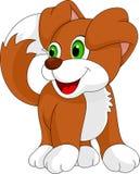 Desenhos animados bonitos do cachorrinho ilustração do vetor