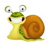 Desenhos animados bonitos do caracol Imagens de Stock