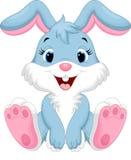 Desenhos animados bonitos do coelho Fotografia de Stock Royalty Free
