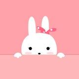 Desenhos animados bonitos do coelho Imagens de Stock
