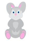 Desenhos animados bonitos do coelho - ilustração Foto de Stock Royalty Free