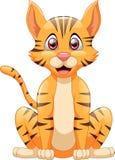 Desenhos animados bonitos do gato Imagem de Stock