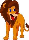 Desenhos animados bonitos do leão ilustração stock