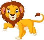 Desenhos animados bonitos do leão Fotografia de Stock