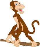 Desenhos animados bonitos do macaco Fotos de Stock