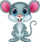 Desenhos animados bonitos do rato Imagens de Stock