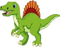 Desenhos animados bonitos do spinosaurus Fotografia de Stock