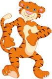 Desenhos animados bonitos do tigre Foto de Stock Royalty Free