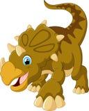 Desenhos animados bonitos do triceratops Imagem de Stock Royalty Free