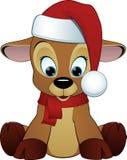 Desenhos animados bonitos dos cervos Imagem de Stock Royalty Free