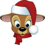 Desenhos animados bonitos dos cervos Imagens de Stock Royalty Free
