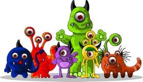 Desenhos animados bonitos dos monstro Fotografia de Stock Royalty Free