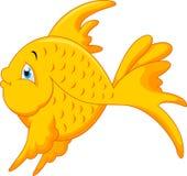 Desenhos animados bonitos dos peixes Imagens de Stock