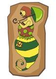 Desenhos animados character#3 ilustração stock