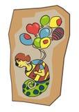Desenhos animados character#4 ilustração do vetor