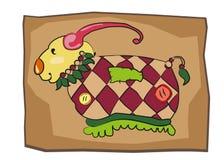 Desenhos animados character#7 ilustração do vetor