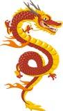 Desenhos animados chineses do dragão Imagem de Stock Royalty Free