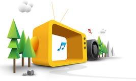 Desenhos animados 3d coloridos Imagem de Stock