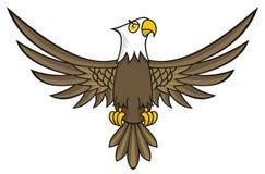 Desenhos animados da águia Foto de Stock
