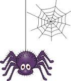 Desenhos animados da aranha Fotos de Stock Royalty Free