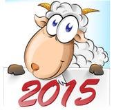 Desenhos animados da cabra Fotografia de Stock Royalty Free