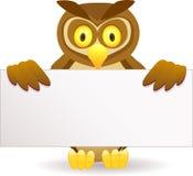 Desenhos animados da coruja Foto de Stock