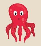 Desenhos animados da fauna do mar Imagem de Stock Royalty Free