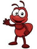 Desenhos animados da formiga Fotografia de Stock