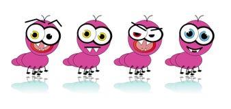 Desenhos animados da formiga - imagem do vetor Fotografia de Stock
