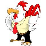 Desenhos animados da galinha Fotografia de Stock