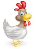 Desenhos animados da galinha Fotos de Stock Royalty Free
