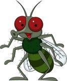 Desenhos animados da mosca ilustração stock