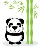 Desenhos animados da panda Imagem de Stock
