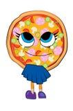 Desenhos animados da pizza Imagens de Stock Royalty Free